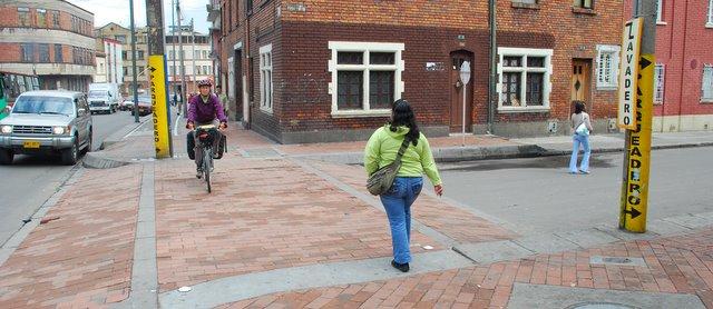 Bogota-sidewalk