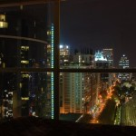 Downtown Vancouver night view